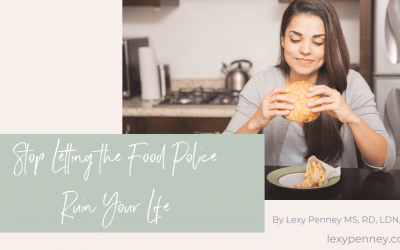 Stop Letting the Food Police Ruin Your Life