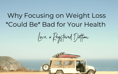 Why Focusing on Weight Loss Could Be Bad for Your Health