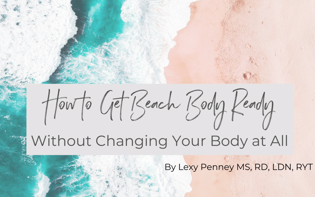 how to get beach body ready