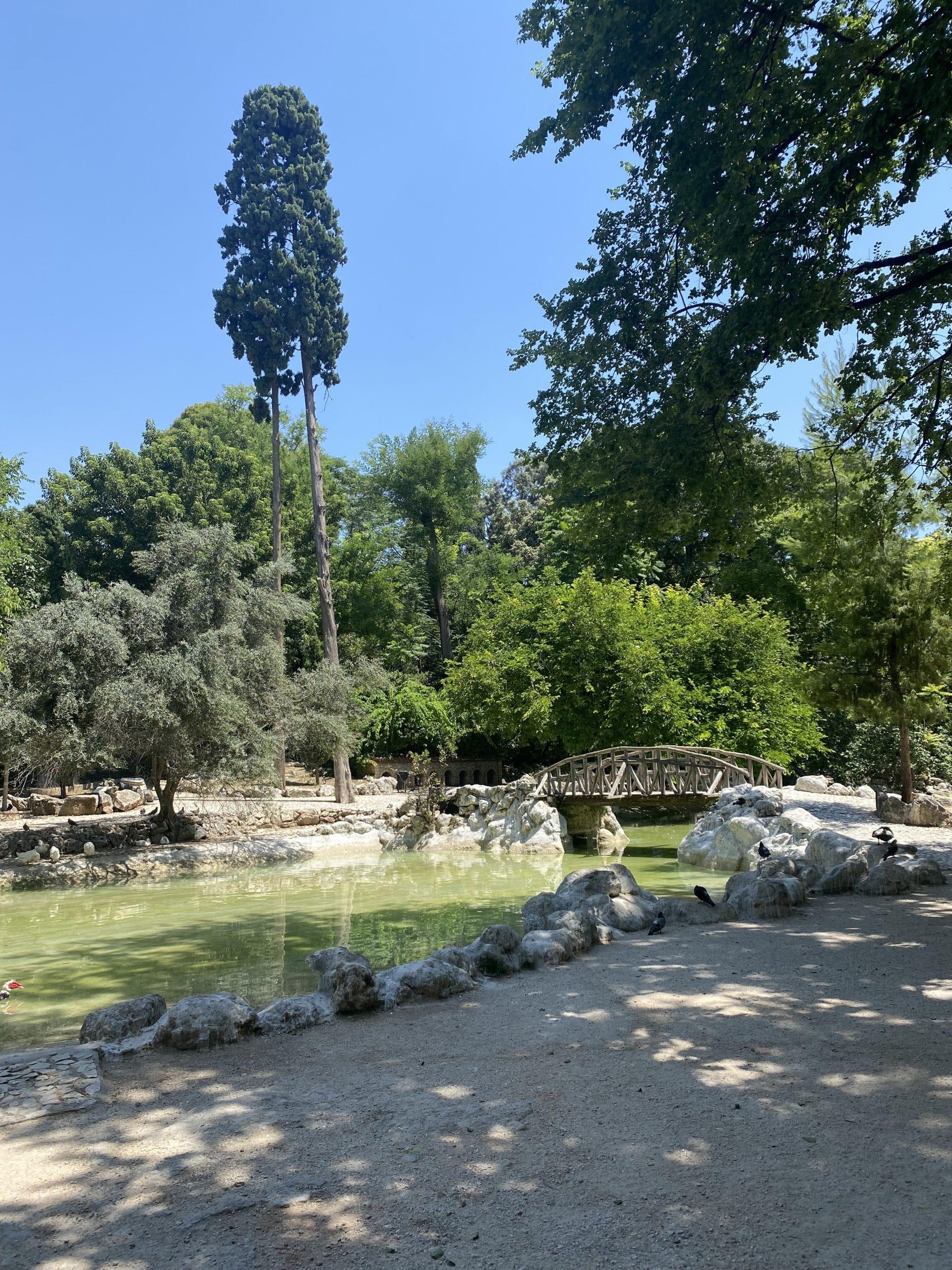 national garden greece