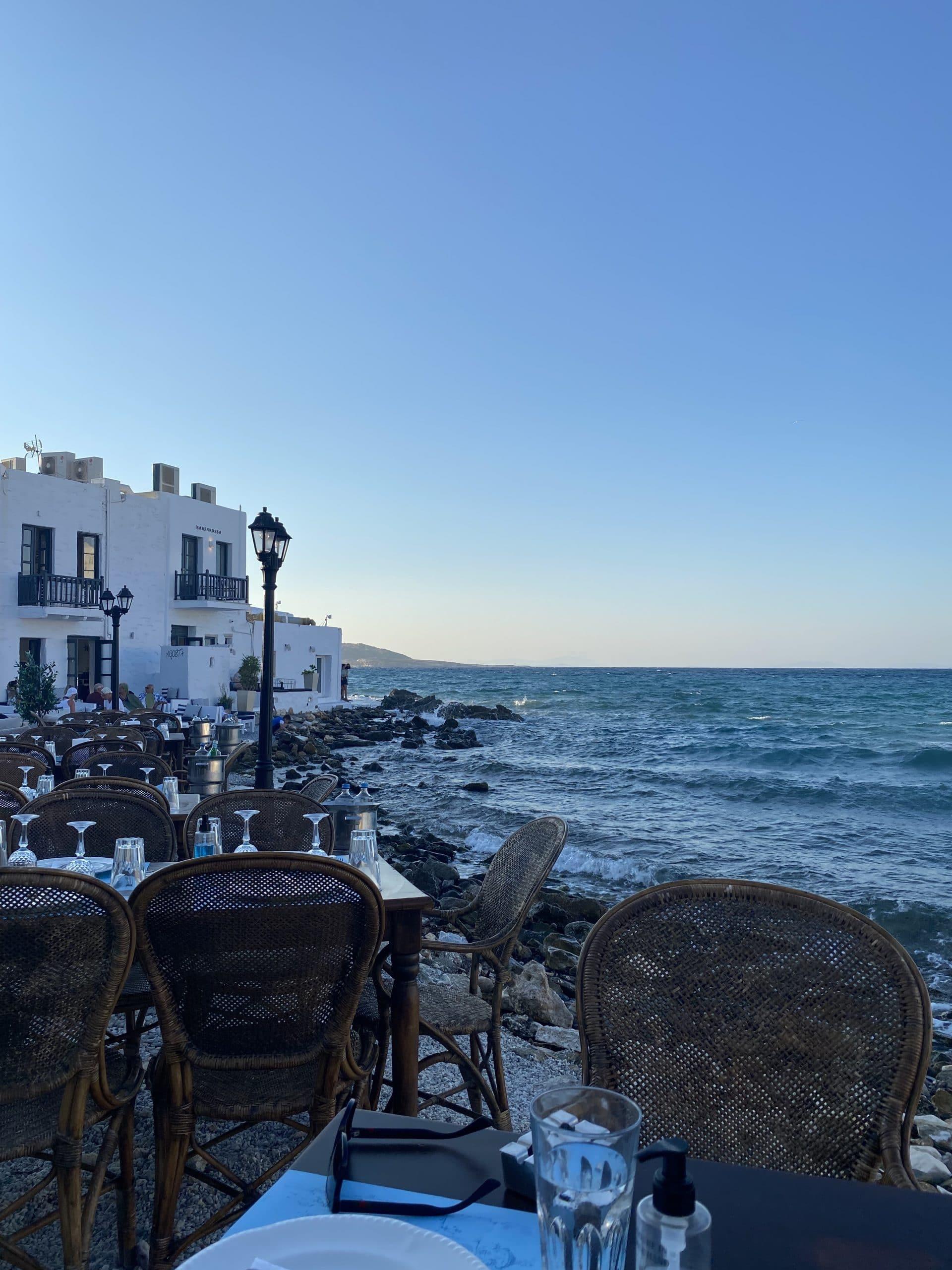 giacomo restaurant paros greece
