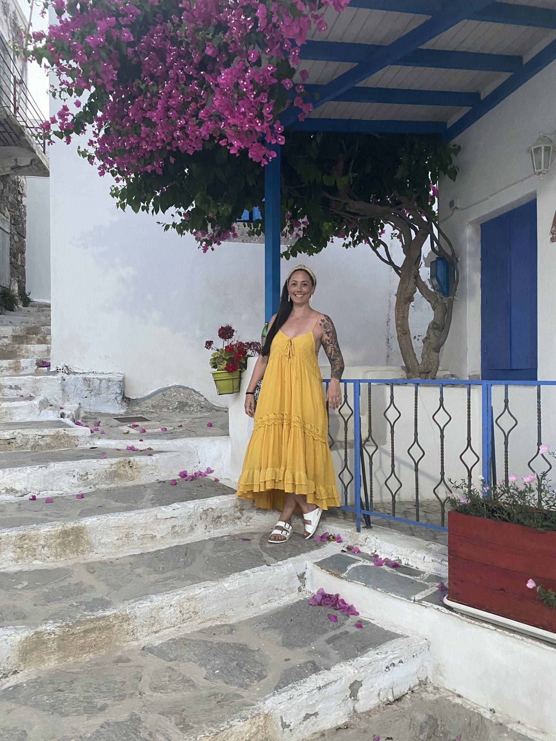 lexy in greece! milos is the best