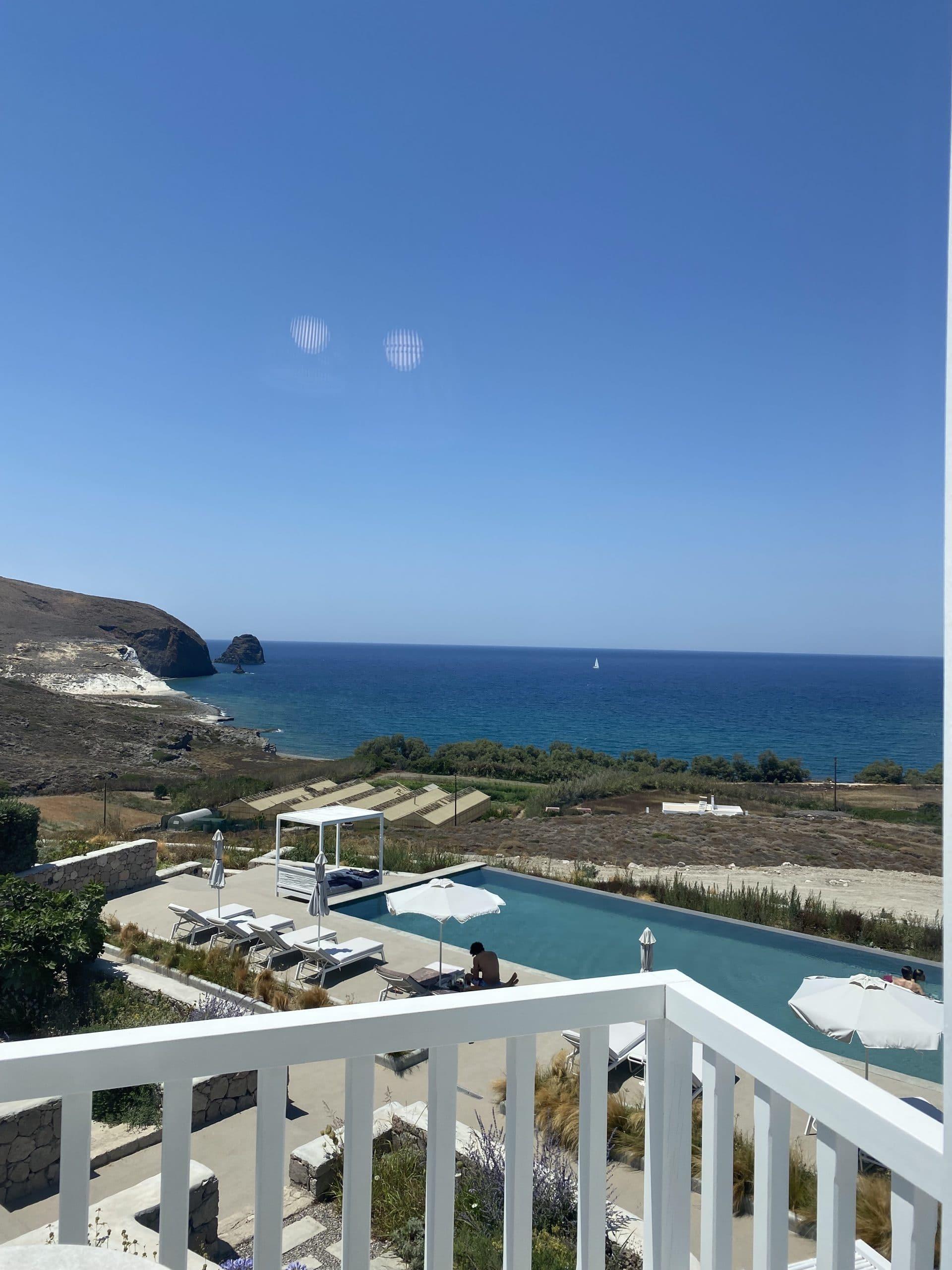 milos breeze boutique hotel sea view