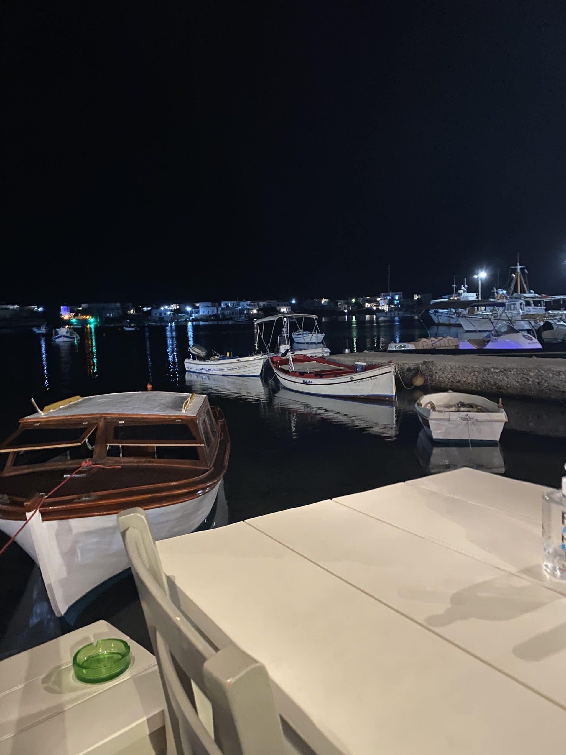 yialos restaurant pollonia greece
